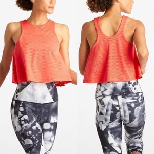 Lucy Wild Coral Light and Free Bra Tank Top